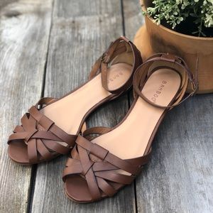 NEW Brown Bamboo Brand Sandals